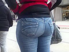 Jeans Ass Booty(Waiting 4 Da Train)