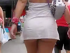Milf Ass In Public