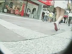 Hot street upskirt movie of gorgeous babes with tight asses
