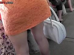 Cute panty up orange costume