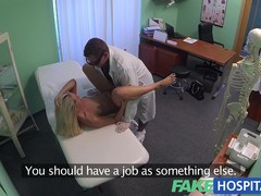 Blond womans headache cured by penis and her squirting pulsing moist cunt