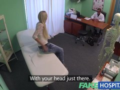 Blond womans headache cured by penis and her squirting pulsing soaked cum-hole