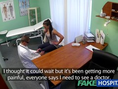 Bawdy mother i'd like to fuck sex junkie acquires screwed by the doctor during the time that her spouse waits