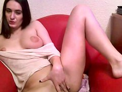 20yo Julia Fingering Her Slit And Flashing Milk Cans