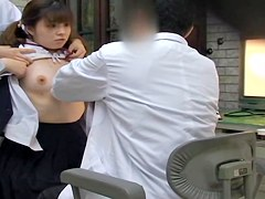 Caught On Tape! Cuties' School Medical Examination