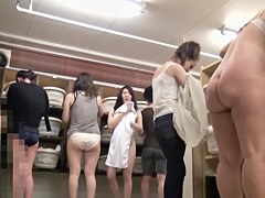 Asian girls in changing room spy video uncover body secrets pk03