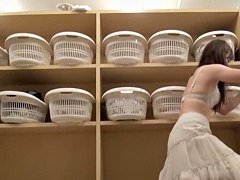 Asian beauties changing their lingerie on dressing room cam pk11