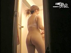 Spy cam in changing room shooting hot Japanese nudity dvd 05254