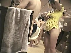 Hottest Asian girls showing their changing room asses 440 su0306