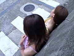 Looking down the blouse of cute Japanese teenager dvd RAO-006