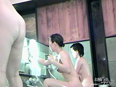 Nice looking japan rubs smooth skin with the soap dvd 03044