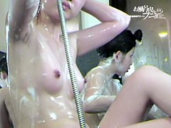 I wish I could wash those horny Asian bodies myself 03113