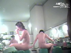 Japan beauties uncovering nub slits when showering dvd 03129