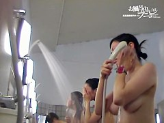 Asians with pretty faces on exciting video from shower dvd 03164