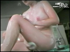 Asian girl washes body paying zealous attention to boobs dvd 03207