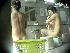 Voyeur cam in shower shooting fat and slender Asians dvd 03245