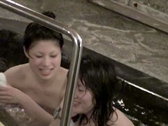 Asian dolls are nude in the sauna and in also in shower nri037 00