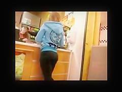 Hot Spanish Ass in Tight Leggings