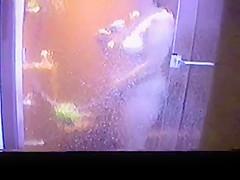 Wife Masturbating in Shower