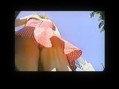 Red Dress Girl Forgot Her Panties BVR