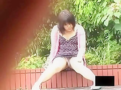 Curse of the Asian girls bending over