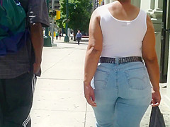 Mature Phat Ass Booty(tight jeans)