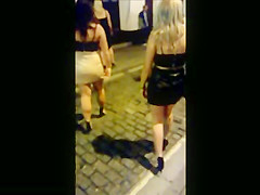 Sexy PVC & Leather Miniskirt Girls' Night Out