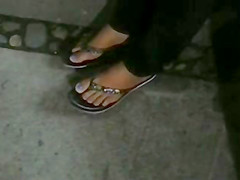 feet pies de una chiclera