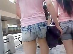 candid sexy asian ass