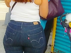 Candid Puerto Rican milf booty of NYC