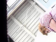 Redhead coworker(red panties frontal)
