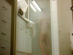 Shower Hairy Voyeur