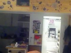 Window Voyeur - spied young german teen HOT body 3-10