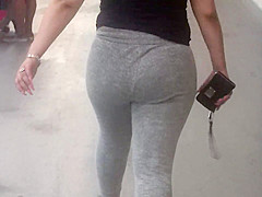 Nice jiggle Latina Booty