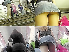 The best amateur clips on the first-class upskirt tube