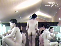 Hottest Asian bodies are covered with water drops on spy cam 3335