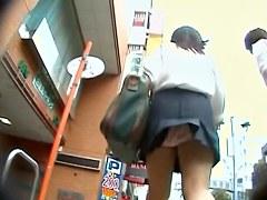 Hottest Asian vixens get upskirts secretly spied on cam dvd DTSH-34