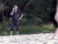 Beach voyeur video of hot bodied nudist amateur girls sb5