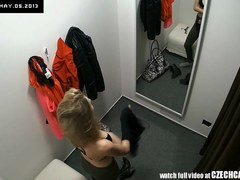 VOYEUR 2 Hidden Security Cams in Changing Room