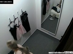 Voyeur Worthwhile Blond Fitting Underware