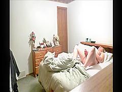 Hidden cam catches MILF