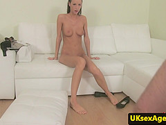 Amateur brit cocksucks agent for sexaudition