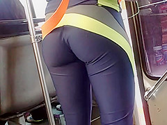 She likes to move the ass..