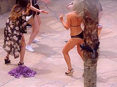 Sexy Bikini MILF at ###l Party
