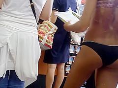 Dripping Wet TEEN bikini BUTTS