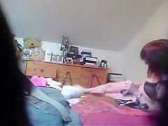 great hidden cam of my mom using dildo