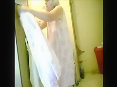 my granny fully nude before shower