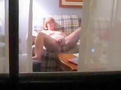 Caught my mum masturbating