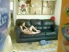 Hidden cam in family house