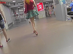 upskirt vid of redhead girls beautiful skinny ass